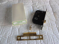 Mortice Bathroom Lock – Electro Brassed – 2.5 inches
