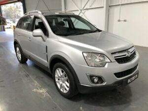 2013 Holden Captiva CG MY12 5 (FWD) Silver 6 Speed Manual Wagon Beresfield Newcastle Area Preview