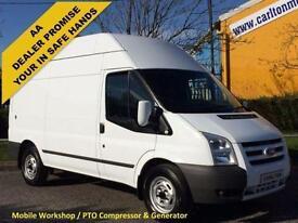 2011 / 61 Ford Transit T350M Hi/R [ Mobile Workshop&Compressor Generator ] Van
