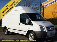 2011/ 61 Ford Transit T350 Mwb High Roof [ Mobile Workshop Compressor ] Van