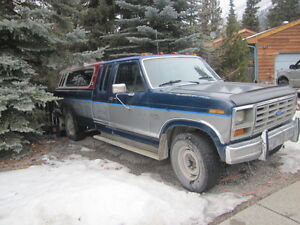 1986 Ford F-250 XL Pickup Truck