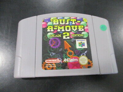 Nintendo 64 N64 Bust-A-Move 2 Arcade Edition - eur
