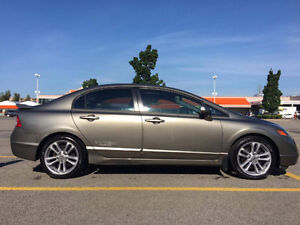 2008 Honda Civic Si Sedan for sell 96,500 KM - EXCELLENT cond.