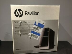 HP Pavilion 500-d09w desktop computer. Brand new, never used