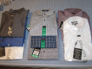 Shirts, Kirkland Sig. Lg & XL, Br. New With Tags