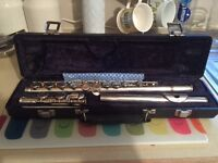 Sapphire flute in very good condition by Rosetti London