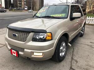 2005 Ford Expedition Limited 4X4 8 PASSENGER PERFECT MINT COND.