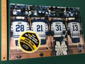 NHL customized posters (new in package)