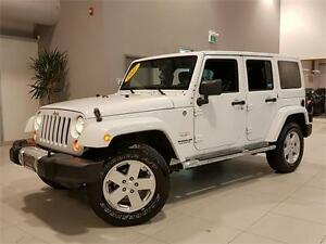 2011 Jeep Wrangler Unlimited SAHARA **AUTOMATIC-2 TOPS**