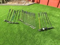 Selection of Golf Clubs, Woods and Drivers