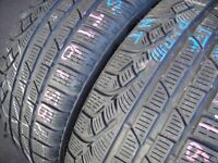 215/50/17 Pirelli SottoZero W210, M+S Winter x2 A Pair, 5.8mm (456 Barking Rd, Plaistow, E13 8HJ)