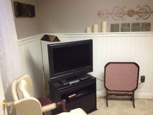 Bright Furnished Bachelor in East End Avail July 01 or Sept 01