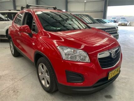2016 Holden Trax TJ MY16 LS Red 6 Speed Automatic Wagon Boolaroo Lake Macquarie Area Preview