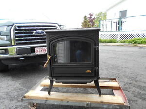 Oil burning stove