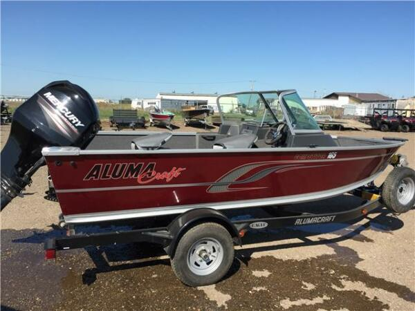 Used 2015 Alumacraft Boat Co dominator
