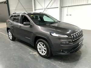 2015 Jeep Cherokee KL MY15 Longitude (4x4) Grey 9 Speed Automatic Wagon Beresfield Newcastle Area Preview