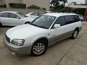 2001 Subaru Outback MY01 Limited White 4 Speed Automatic Wagon Sylvania Sutherland Area Preview