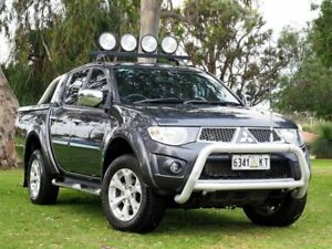 2012 Mitsubishi Triton MN MY12 GLX-R Double Cab Grey 5 Speed Sports Automatic Utility Myaree Melville Area Preview