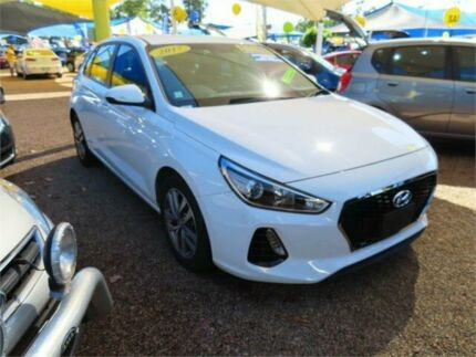 2017 Hyundai i30 GD4 Series II MY17 Active White 6 Speed Sports Automatic Hatchback Minchinbury Blacktown Area Preview