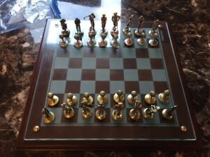 2 chess sets for sale/trade