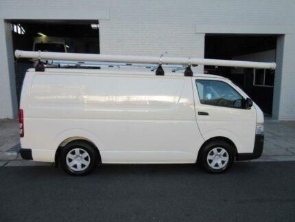 2009 Toyota Hiace KDH201R MY10 White 5 Speed Manual Van Croydon Burwood Area Preview