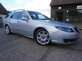 0707 SAAB 9-5 2.3t VECTOR AUTOMATIC ESTATE/TOURING 1 OWNER FSSH 7 STAMPS SUPERB