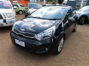 2012 Kia Rio UB MY13 SI Black 6 Speed Sports Automatic Hatchback Minchinbury Blacktown Area Preview