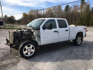 Damaged 2013 Crew Cab Short Box 4x4