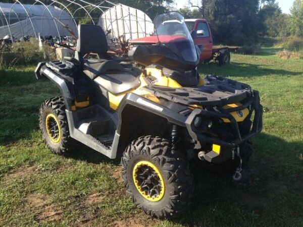 Used 2012 Can-Am Outlander Max XTp