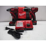 MILW 18V COMPACT 2-TOOL COMBO KIT 2691-22