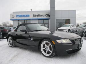2008 BMW Z4 3.0si RED LEATHER, HEATED SEATS!