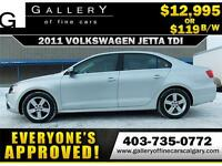 2011 Volkswagen Jetta TDI $119 bi-weekly APPLY NOW DRIVE NOW