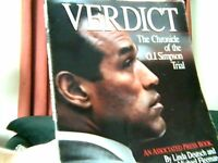 5  OJ Simpson Trial of the Century Books.......20.00 for all 5