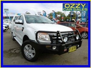 2013 Ford Ranger PX XLT 3.2 (4x4) White 6 Speed Manual Dual Cab Utility Penrith Penrith Area Preview