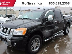 2015 Nissan Titan SL, NAV, CREW CAB, Tow Hitch, Leather SEats