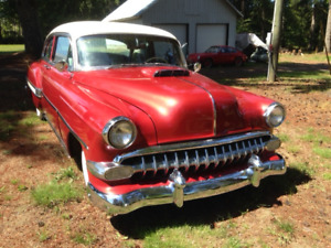 1954 chev 2 dr post arizona car rust free