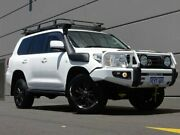 2010 Toyota Landcruiser VDJ200R MY10 GXL White 6 Speed Sports Automatic Wagon Maddington Gosnells Area Preview