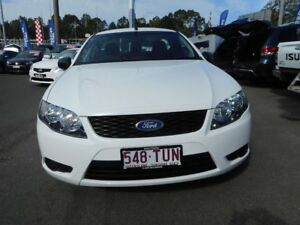 2008 Ford Falcon BF Mk II XL Ute Super Cab White 4 Speed Automatic Utility