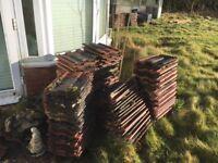 Marley concrete roof tiles 330mmx410mm £0.55 per tile or deal for job lot