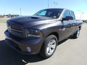 2015 Ram 1500 4WD QUADCAB SPORT Accident Free,  Navigation (GPS)