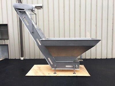 Trinity Stainless Steel Hopper-elevator With 108 Inch Discharge