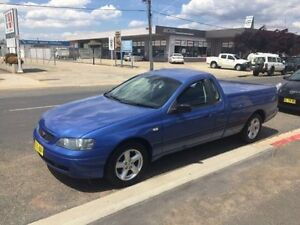 2003 Ford Falcon BA XL Blue 4 Speed Automatic Utility Fyshwick South Canberra Preview