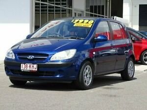 2007 Hyundai Getz TB MY07 S Blue 5 Speed Manual Hatchback Garbutt Townsville City Preview