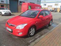 hyundai i30 2008 08, 1.4 petrol long mot s/history very good runner £1995 no offers px welcome