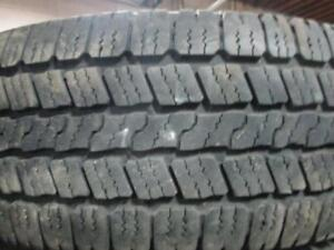 GOODYEAR WRANGLER SRA LT 265/70R18 10 PLY TIRES 80% TREAD 265/70/18