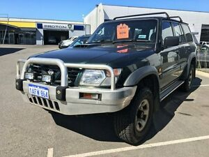 1998 Nissan Patrol GU ST (4x4) Green 5 Speed Manual 4x4 Wagon Hillman Rockingham Area Preview