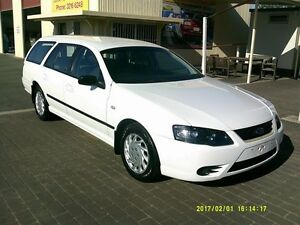 2009 Ford Falcon BF Mkiii XT (LPG) White 4 Speed Auto Seq Sportshift Wagon Coopers Plains Brisbane South West Preview