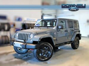 2014 Jeep Wrangler Unlimited WRANGLER SAHARA, 4X4, MANUAL TRANS,