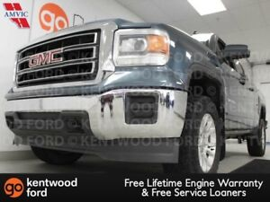 2014 GMC Sierra 1500 SLE in a majestic blue, all ready and waiti