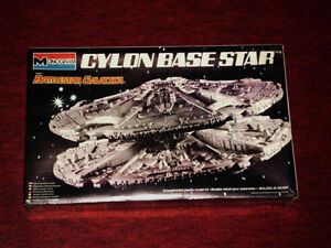 BATTLESTAR GALACTICA CYLON BASE STAR 1978